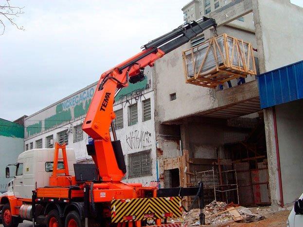 Empresa de remoção de máquinas