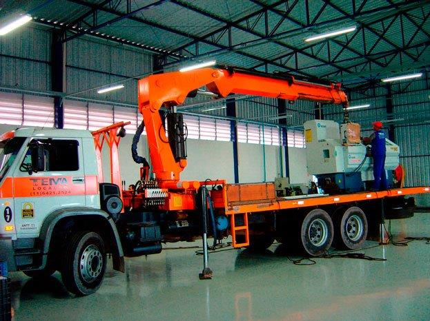 Locação de caminhão munck preço