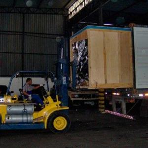 Estufagem de Container a Granel
